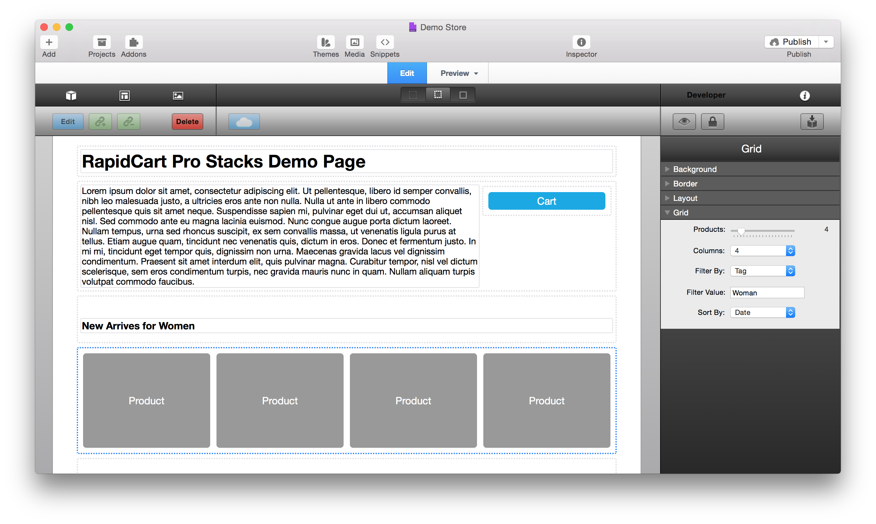 rapidweaver stacks plugins